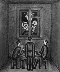 franz-kafka-the-trial-1965-drawing-on-paper-185x155cm